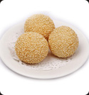 Fried sesame balls picture